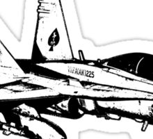 F/A-18 Hornet Sticker