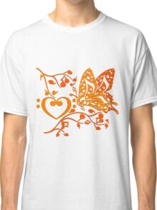 Butterfly_Notes Classic T-Shirt
