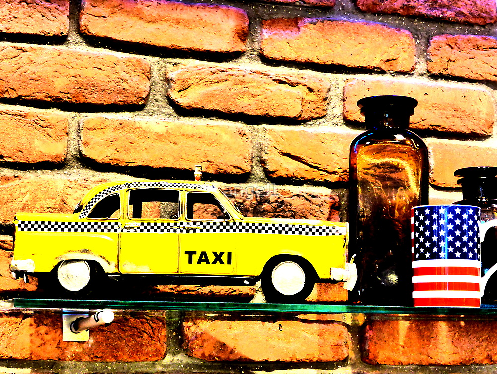 New York Taxi by ©The Creative  Minds
