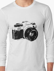 Vintage Canon Camera Long Sleeve T-Shirt
