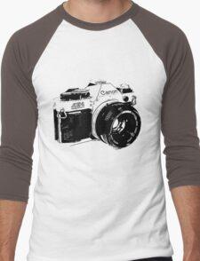 Vintage Canon Camera Men's Baseball ¾ T-Shirt