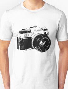 Vintage Canon Camera Unisex T-Shirt