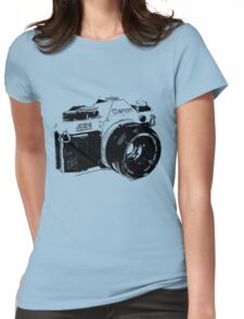 Vintage Canon Camera Womens Fitted T-Shirt