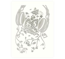 Butterfly_Notes Art Print