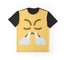 Face with look of triumph emoji Graphic T-Shirt