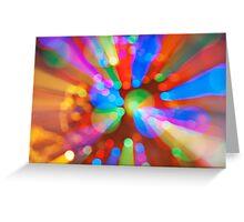 Light pattern 2 Greeting Card