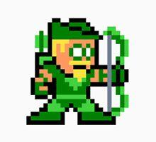 8-bit Green Arrow Unisex T-Shirt