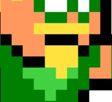 8-bit Green Arrow Sticker