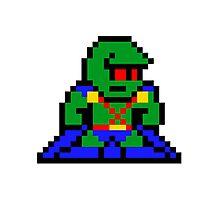 8-bit Martian Manhunter Photographic Print