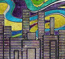 City Lights by SRowe Art