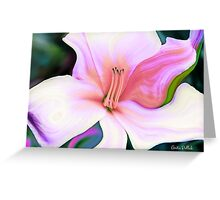 Daylily Gone Wild! Greeting Card