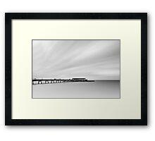 Deal Pier, Kent, England Framed Print