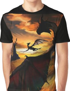 Dragon Planes Graphic T-Shirt