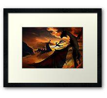 Dragon Planes Framed Print