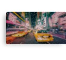 Yellow cab Canvas Print