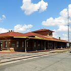 Pine Bluff Ark Depot by WildestArt