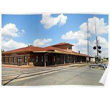Pine Bluff Ark Depot Poster