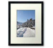 Winter in Switzerland Framed Print
