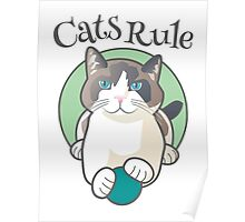 Cats Rule Poster