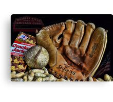 Buy Me Some Peanuts and Cracker Jacks Canvas Print