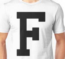 Letterman F Unisex T-Shirt