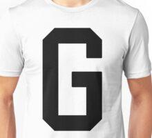 Letterman G Unisex T-Shirt