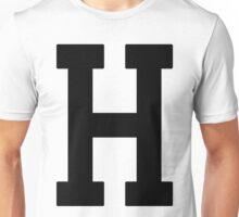 Letterman H Unisex T-Shirt