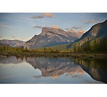 Mount Rundle, Alberta Photographic Print