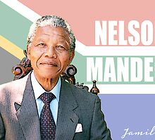 Nelson Mandela by Jamilology
