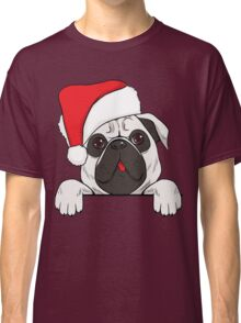 Christmas Dog - Pug Classic T-Shirt