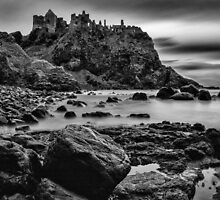 Dunluce Castle by Nigel R Bell