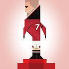 Eric Cantona by Marcus Marritt by MarcusMarritt