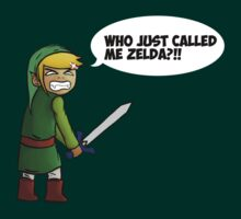 Who just called me Zelda?! by Afif Sohaili