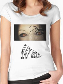 Black Widow T Shirts & Stickers Women's Fitted Scoop T-Shirt