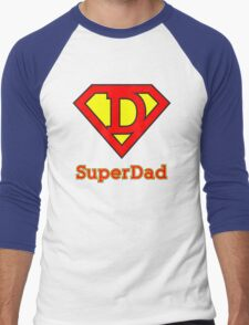 Super dad Men's Baseball ¾ T-Shirt
