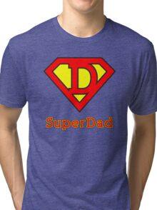 Super dad Tri-blend T-Shirt