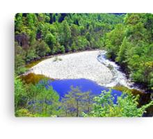 The River Garry at Killiecrankie Canvas Print