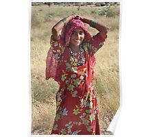 Desert Girl Poster