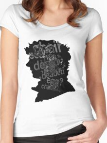 DrunkLock Women's Fitted Scoop T-Shirt