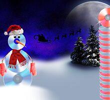 Christmas CD Man by jkartlife