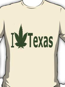 0241 I Love Texas  T-Shirt