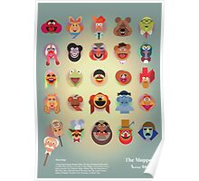 The Muppets A(nimal) to Z(oot) by Marcus Marritt Poster