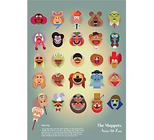 The Muppets A(nimal) to Z(oot) by Marcus Marritt Photographic Print