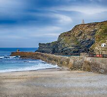 Portreath before the Storms by Chris Thaxter