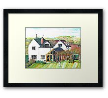 Roberts House Worcestershire Framed Print