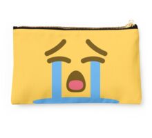 Loudly crying face emoji Studio Pouch