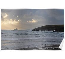 The Skelligs from St Finian's Bay Poster