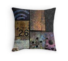 Blocks 2 Throw Pillow