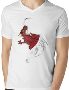 Sir, there appears to be a dragon in your shirt [light ver] Mens V-Neck T-Shirt