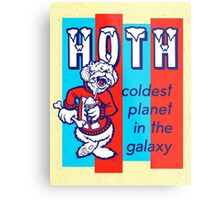 HOTH: COLDEST IN THE GALAXY Metal Print